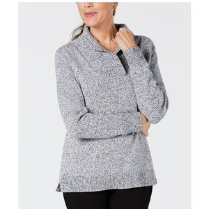 Karen Scott Sweaters - KAREN SCOTT Shawl-Collar Sweater